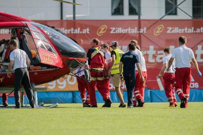 Abdelhak Nouri sofreu uma arritmia severa durante a partida  (Crédito: Getty)