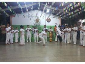 Festa da escola Chagas Rodrigues apresenta Orquestra de Berimbau