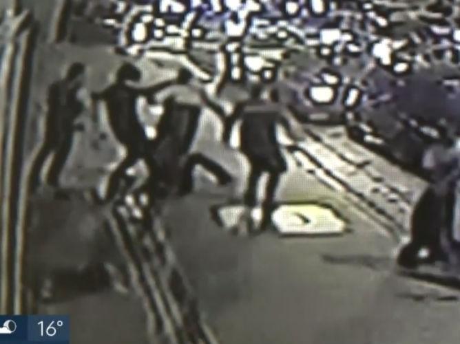 Vídeo mostra briga que terminou com morte de torcedor palmeirense