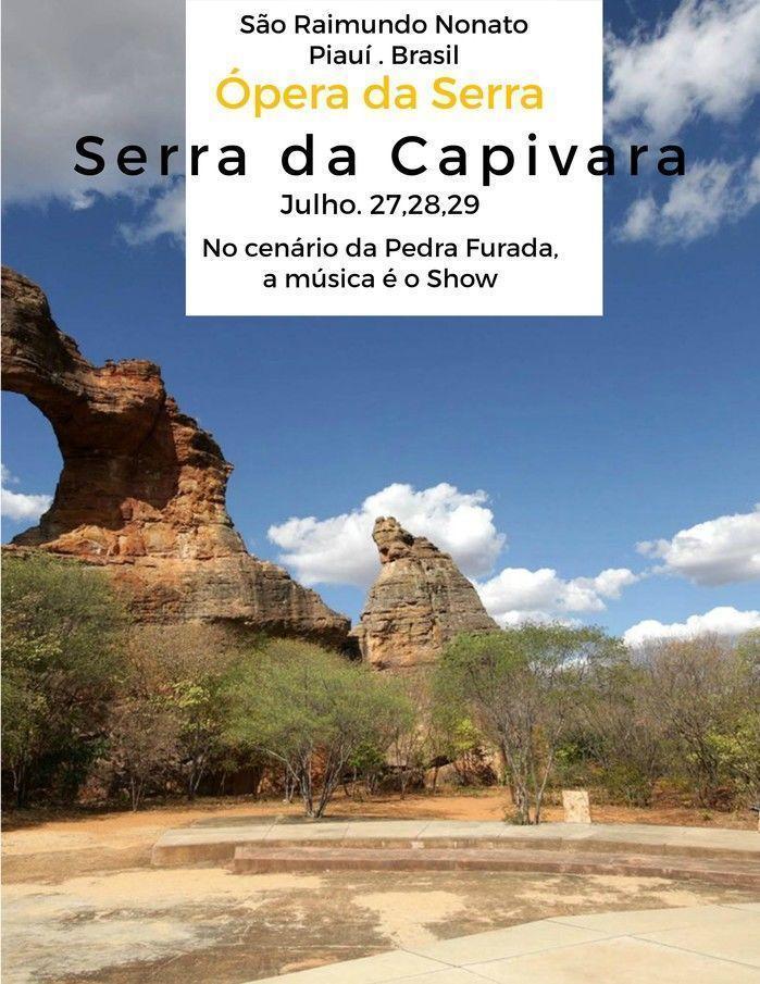 Pedra Furada, Parque Nacional da Serra da Capivara. A Música é o show! (Crédito: Divulgação)