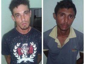Homens são presos por roubos em União