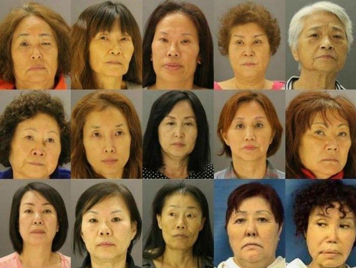 Quinze profissionais do sexo detidas em bordel que usava mão de obra de idosas (Crédito: Reprodução)