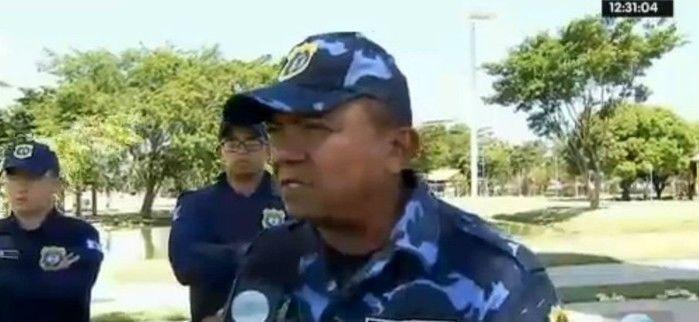 Capitão Monteiro, comandante da Guarda Municipal de Teresina (Crédito: Rede Meio aNorte)