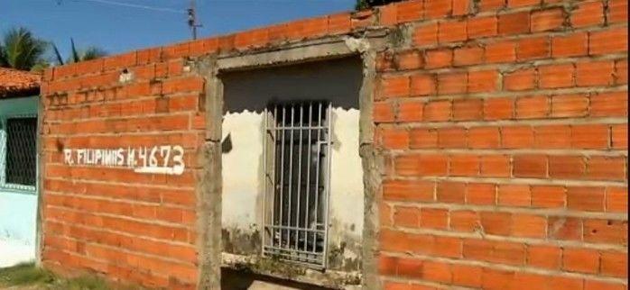 Residência onde a vítima morava (Crédito: Rede Meio Norte)