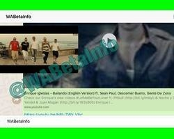 WhatsApp: Usuário verá vídeo do YouTube sem sair da conversa