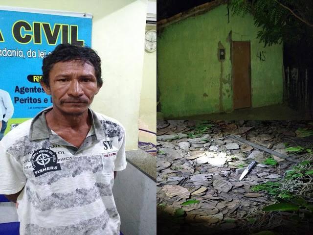 Enteado acusado de matar o próprio padrasto (Crédito: Diario Buritiense)