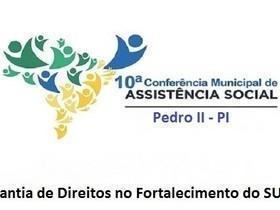 X Conferência Municipal de Assistência Social acontecerá 25/26