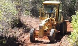 Município recupera mais de 60 km de estradas na zona rural