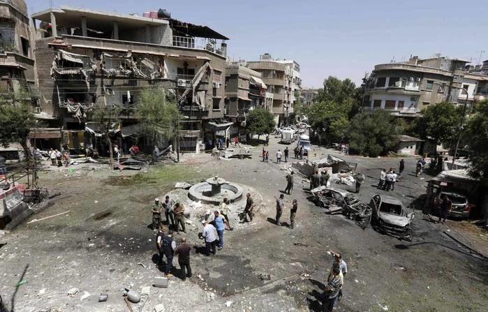 Capital da Síria foi alvo de mais um ataque terrorista