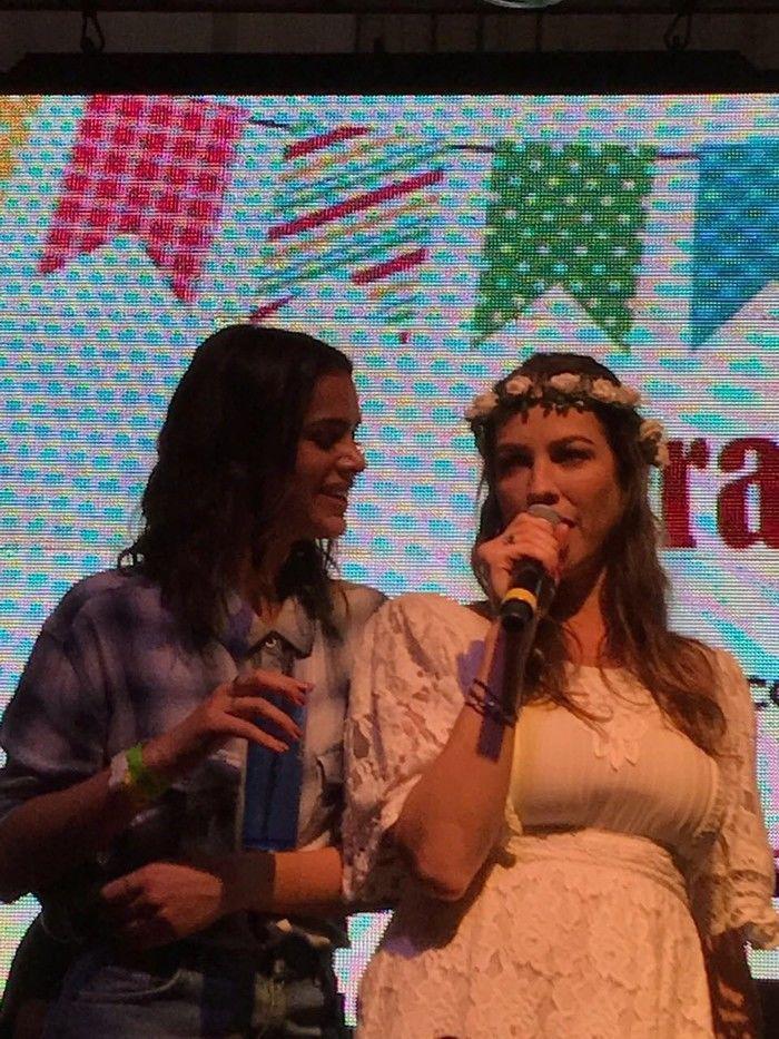 Bruna Marquezine e Luana Piovani em arraiá (Crédito: Reprodução)