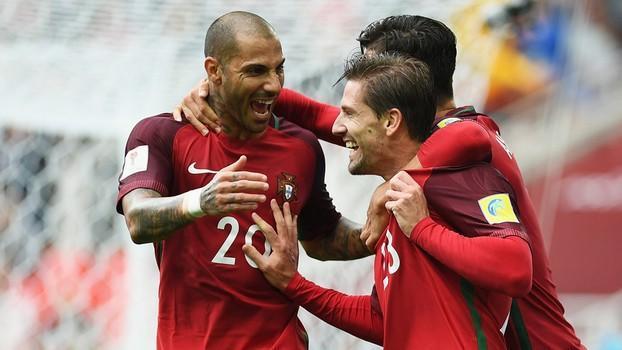 Portugueses ficaram em terceiro na Copa das Confederações (Crédito: Getty)