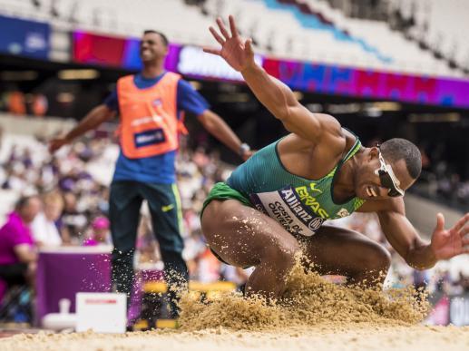 Brasil conquista 5ª medalha no Mundial de Atletismo Paralímpico