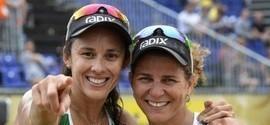 Larissa e Talita vão à final da etapa do Circuito Mundial de Vôlei