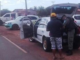 Policia Militar realiza operação para combater o tráfico de drogas