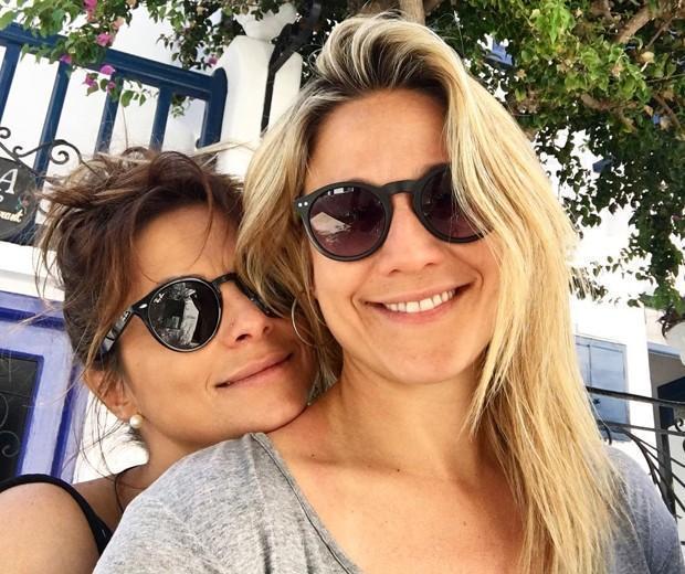 Fernanda Gentil  e Priscila