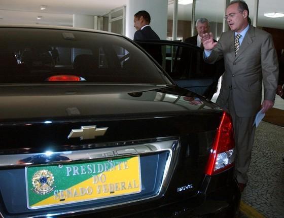 Carro utilizado pela presidência do Senado