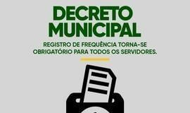 Reginaldo Júnior regulamenta o registro de ponto dos servidores