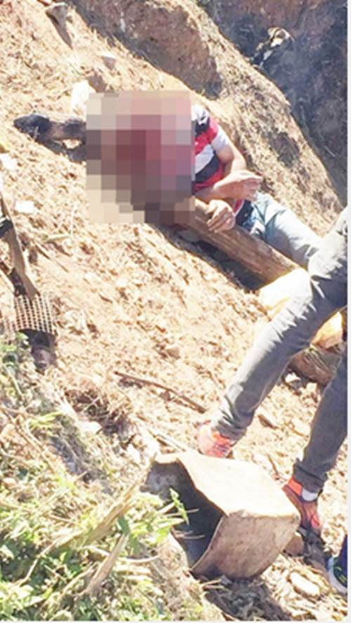 Assassino é fotografado observando resgate da vítima