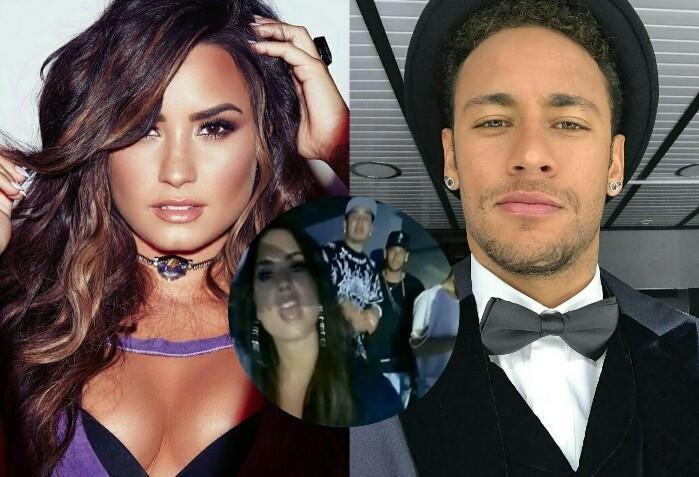 Demi Lovato e Neymar são vistos juntos assistindo show em NY