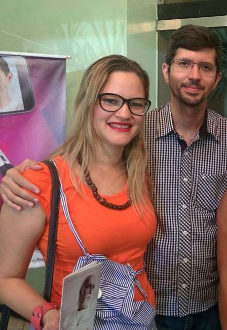 Daniel Moura Fé e Flalrreta Alves (Crédito: Reprodução/Facebook)