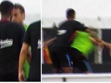 Neymar se estranha com reforço,troca farpas e deixa treino do Barça