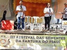 Pedro II sedia III Festival das Sementes da Fartura do Piauí