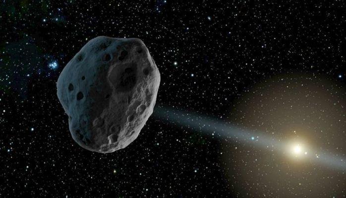 O asteroide tinha o tamanho de um Boing (Crédito: Reprodução)