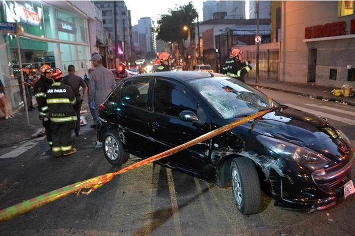 Cinco pessoas são atropeladas por motorista alcoolizado em SP