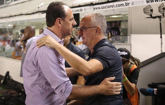 Rogério Ceni e Dorival Jr. (Crédito: Reprodução )