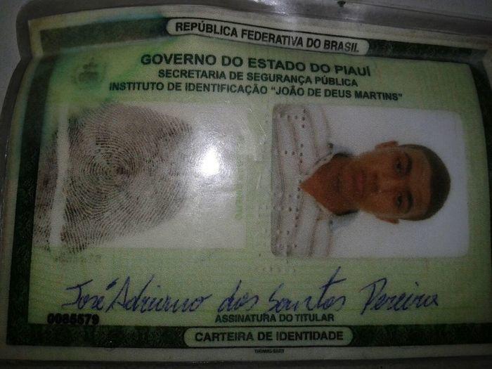 José Adriano dos Santos Pereira (20 anos)