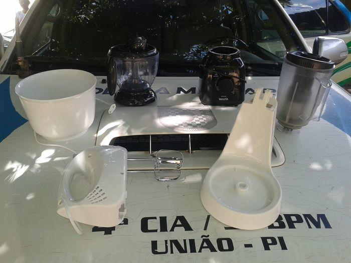 Objetos roubados por Marcelo
