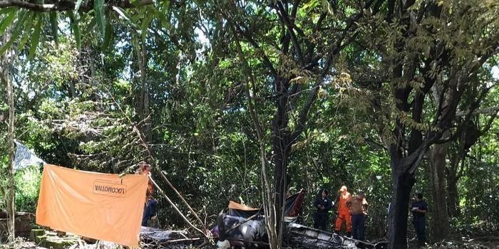 Aeronave cai em Roraima e deixa quatro pessoas mortas e uma ferida