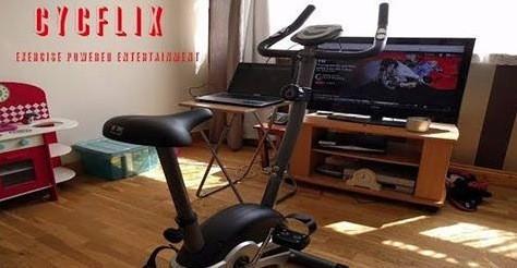 Esta bicicleta bloqueia a Netflix se você parar de se exercitar