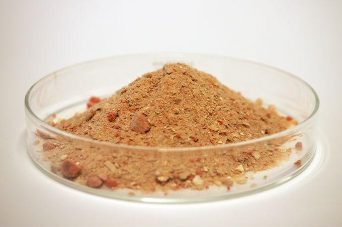 Farinha rica em nutrientes é o resultado do experimento  (Crédito: Reprodução)