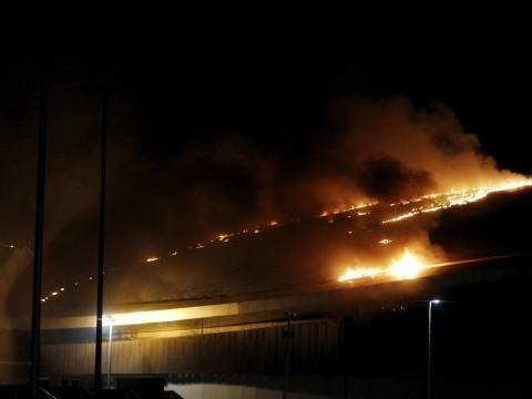Incêndio atinge Velódromo do Parque Olímpico no Rio de Janeiro