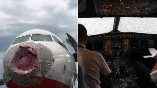 A aeronave ficou destruída  (Crédito: Reprodução)