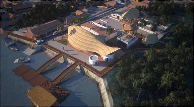 Projeto do Porto dos Tatus (Crédito: Divulgação)