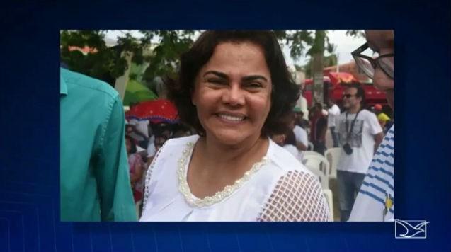 Núbia Feitosa, primeira-dama do município de Paço do Lumiar (Crédito: Reprodução)