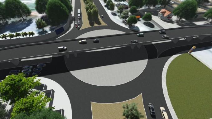 Modelo Elevado da avenida Barão de Gurgueia (Crédito: Divulgação)