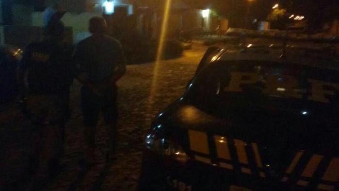 Homem preso em Buriti dos Lopes (Crédito: PRF)