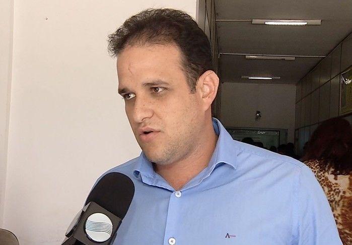 Prefeito de Amarante, Diego Teixeira (Crédito: Reprodução )
