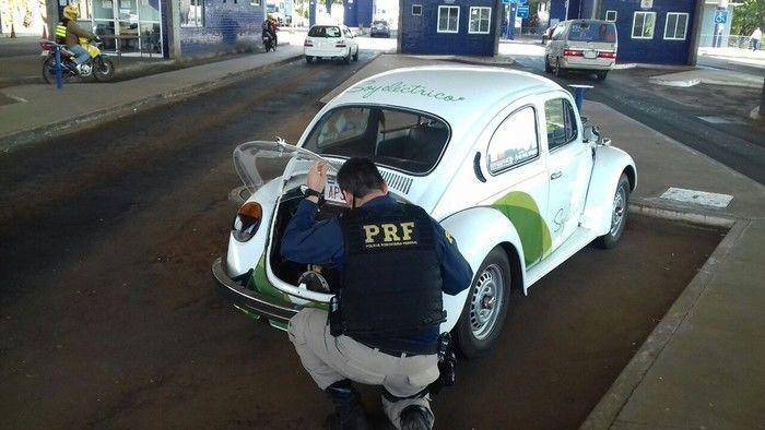 Carro havia sido roubado em 1993 (Crédito: Reprodução)