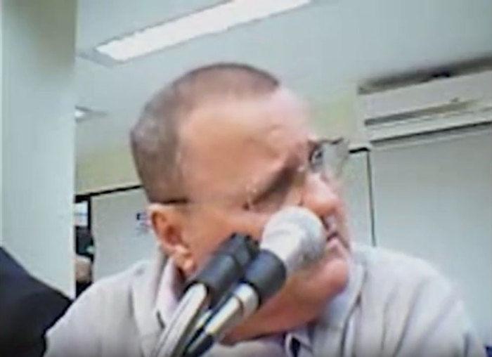 Geddel Vieira Lima teve cabeça raspada