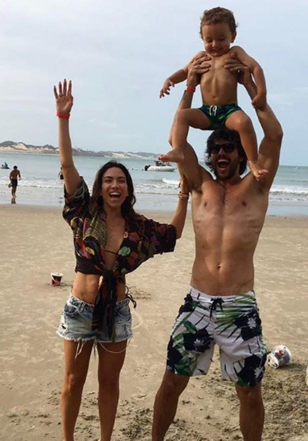Patricia Abravanel, Pedro e Fábio Faria (Crédito: Reprodução)