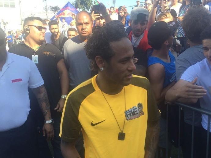 Neymar (Crédito:  Gabriel dos Santos))