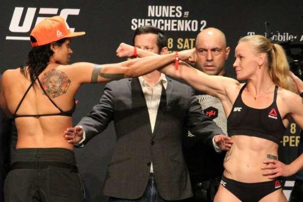 Amanda Nunes passa mal e não luta hoje no UFC