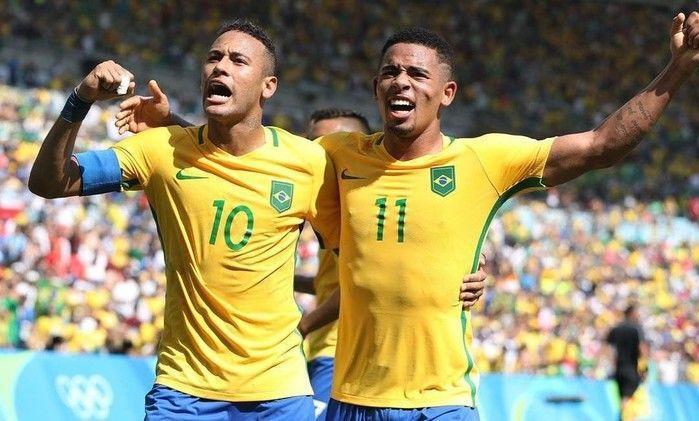 """Neymar celebra dupla com Gabriel Jesus: """"A gente vai dar trabalho"""""""