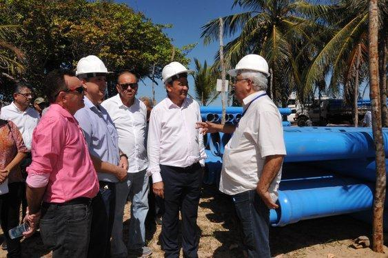 Governador Wellington Dias cumpriu agenda no litoral (Crédito: Paulo Barros)
