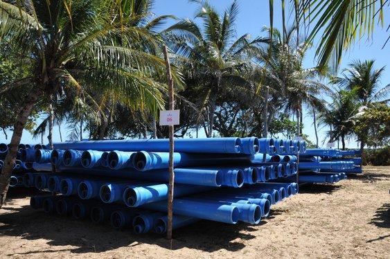 Governador Wellington Dias entrega cumpriu agenda no litoral (Crédito: Paulo Barros)