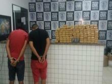 Polícia Civil prende dupla com 100 Kg de maconha no Maranhão